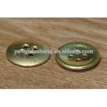 Botão de pressão de metal personalizado, botões de olho de boneca, botões de designer de casaco