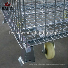 Supermercado Roll Cages con ruedas