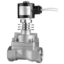 Vapor y aceite de conducción de calor Válvula solenoide de alta temperatura