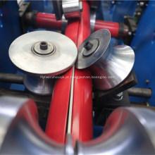 Drene a máquina de formação de rolo de tubo redondo ondulado de água
