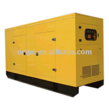 water cooled, electric start soundproof generator set with standard AVR