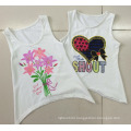 Beautiful Fashion Girl Knit Vest in Children Girl T-Shirt with Camisole (SV-029)