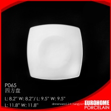 china suppliers wholesale dinnerware hotel square plate