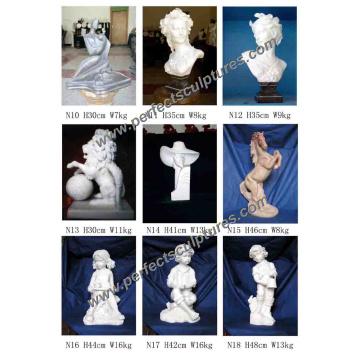 Statuette Statue Statue Statue Statue pour la Décoration de Sculpture en Pierre