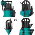 400W bomba sumergible de jardín de plástico con interruptor de flotador para agua limpia