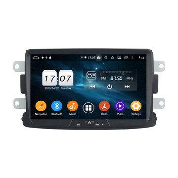 Android-infotainment voor Duster 2014-2016 Deckless