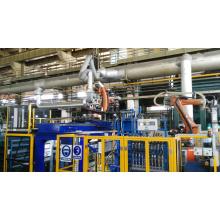 Máquina de fundición por gravedad de moldes de metal