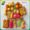 Israel and Turkey hot sell rice crackers HV-178 mix H