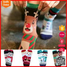 Hochwertige niedliche warme customzied Weihnachtssocken