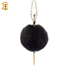 Genuine Fox Fur Fashion Womens Fur Bags Dancer Girl Fox Fur Bag With Tassel
