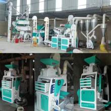 Mini moulin à riz automatique haute capacité