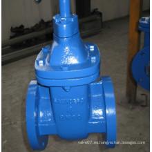 Válvula de compuerta DIN de hierro fundido