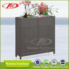 Prateleira de flores de Rattan impecável (DH-9744)