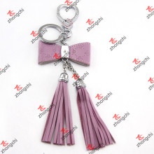 Fashion Leather Tassels with Metal Jewelry for Women Bag Accessories