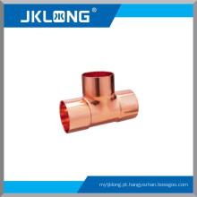 J9009 Conexão de cobre, T igual de cobre para encanamento