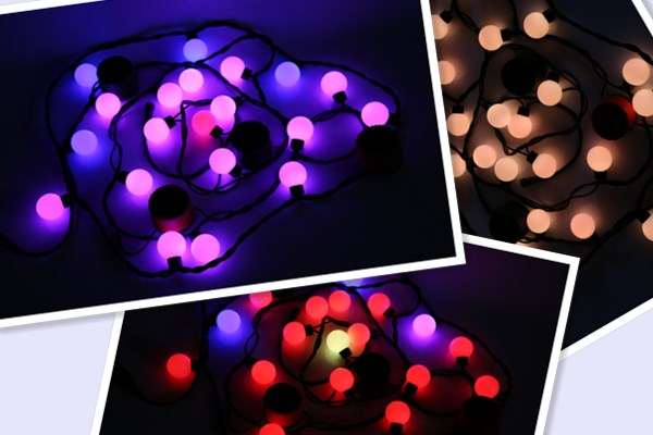 smart string lights P25