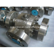 3 Ways Flanged Ball Valve (Q341H)