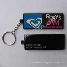 Accesorios de la llave de la llave de goma, regalo de la promoción