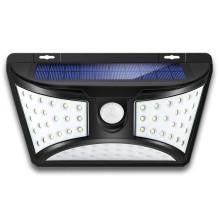 Applique murale solaire de sécurité imperméable super lumineuse améliorée