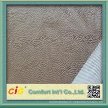 China-Qualitäts-künstliches Leder für Autositz-Abdeckung