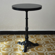 Exotic Round Black Cast Iron French Bistro Table (SP-RT475)