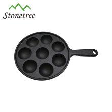 Vente chaude pas cher personnalisé en fonte produits de cuisine muffin haut gâteau pan cuire pan