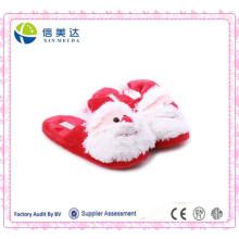 Оптовая плюшевых милые Санта-Клауса тапочки