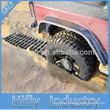 HY-60P pistas de recuperación de adherencia de neumáticos pistas placa de remolque de coche placa pedófila antideslizante (certificado PAHS)