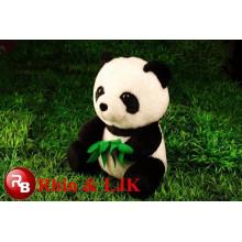 Juguetes lindos de la felpa del panda para el pequeño animal, juguetes del animal doméstico para el juguete del cabrito