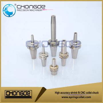 Mandril de pinças CNC com encolhimento de alta precisão