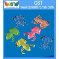 Assorted Colors Stretchy Sticky Frog Toys