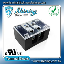 TB-3XXYYCP Series Panel Mount 15A-25A-35A 300V Fixed Terminal Block