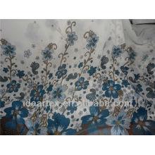Floral 50 D Printed Chiffon Stoff für Sommerkleid