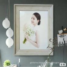Large romantic wedding photo frame