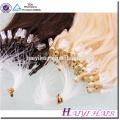 Usine Remy Vierge Cheveux Humains 20 Pouces Malaisienne Micro Perles Extensions de Cheveux Humains
