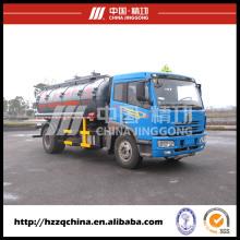 Remolque cisterna de productos químicos en Safe Delvery, camión cisterna de combustible (HZZ5164GHY)