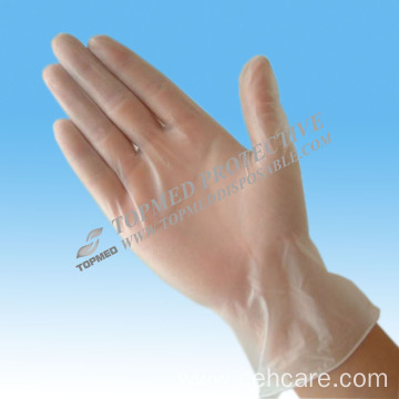 Disposable Vinyl Examination Gloves with Powdered