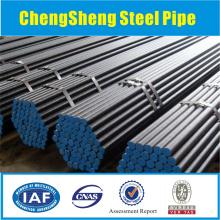 St37 nahtlose Stahlrohr schwarz Stahl nahtlose Rohre sch40 astm a106