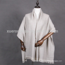 mantón de lana de estilo estera