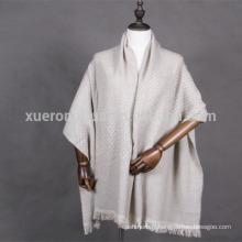 châle de laine de style mat