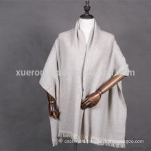 mat style wool shawl