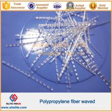 Plastic Waved PP Macro Engineering Fiber