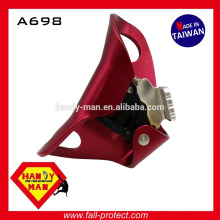A698 Mountaineering Rock Climbing Device 4kn 8mm 13mm Aluminum Chest Ascender