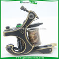 2015 expensive tattoo guns CNC fine carved brass superior tattoo machines MBC02 liner with 8copper coils tattoo machines sale
