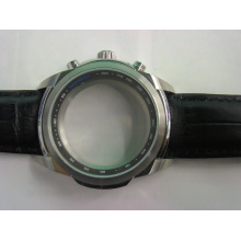 Caja de reloj de acero inoxidable Fine Crafed 316L