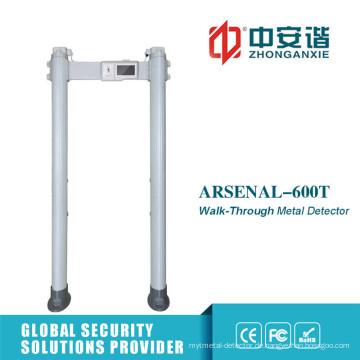 255 Level Outdoor Gebrauch Hochleistungs-Türrahmen-Metalldetektor