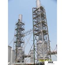 Cheminée en PRF pour l'absorption des gaz corrosifs