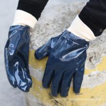 NMSAFETY de haute qualité coupe le niveau 2 pour la certification CE de gant de nitrile de l'industrie pétrolière du marché haut de gamme