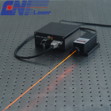 CW DPSS Gelb-Orange-Laser