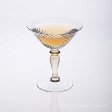 Verre à Martini Soufflé à la Bouche Clair